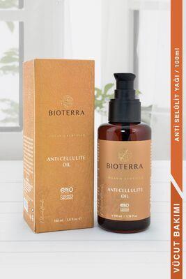 BİOTERRA - Bioterra Organik Anti-Cellulite Oil 100 ml (Selülit Karşıtı Yağ)