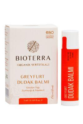 BİOTERRA - Bioterra Organik Greyfurt Dudak Balmı (Grapefruit Lip Balm) 5 ml