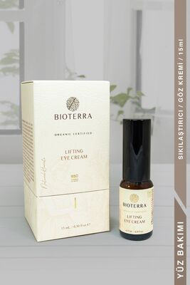 BİOTERRA - Bioterra Organik Lifting Eye Cream 15 ml (Sıkılaştırıcı Göz Kremi)