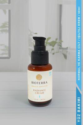 BİOTERRA - Bioterra Organik Radiance Cream 50 ml (Işıltı Yüz Kremi)