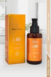 BİOTERRA - Bioterra Organik Sunscreen SPF 40 Güneş Kremi 100 ml