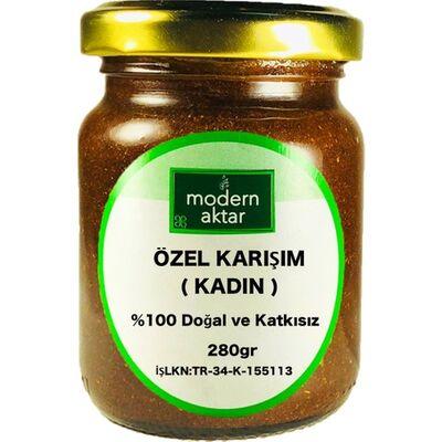 Modern Aktar - DOĞAL KADINLARA ÖZEL BİTKİSEL KARIŞIM 280 GR